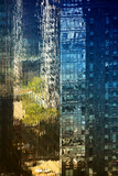 City Buildings - Reflection - 42st - Manhattan - New york - United States Photographic Print by Philippe Hugonnard