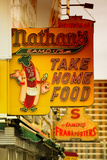 Take Home Food With Nathan'S Photographic Print by Philippe Hugonnard