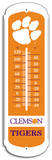 NCAA Clemson Tigers Outdoor Thermometer Tin Sign