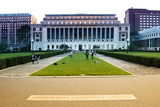 Columbia University - College - Campus - Buildings and Structures - Manhattan - New York - United S Photographic Print by Philippe Hugonnard
