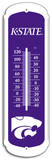 NCAA Kansas State Wildcats Outdoor Thermometer Tin Sign