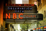 Nbc studios - Manhattan - New York City - United States Photographic Print by Philippe Hugonnard