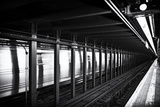 Subway Stations - Manhattan - New York City - United States Photographic Print by Philippe Hugonnard