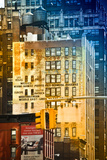 Buildings and Structures - Manhattan - New York - United States Photographic Print by Philippe Hugonnard