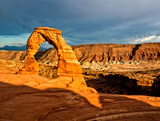 Delicate Arch - Landscape - Arches National Park - Utah - United States Photographic Print by Philippe Hugonnard