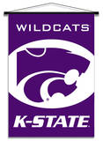 NCAA Kansas State Wildcats Indoor Banner Scroll Wall Scroll