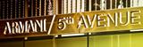Advertising - Armani - Fifth Avenue - Manhattan - New York City - United States Lámina fotográfica por Philippe Hugonnard