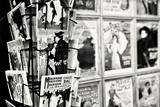 Gamla franska postkort, Galleri, Montmartre, Paris, Frankrike III Fotografiskt tryck av Philippe Hugonnard