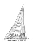 The Empire State Building and a Side of Fries. - New Yorker Cartoon Premium Giclee Print by Jack Ziegler