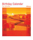 Ton Schulten Vertical Birthday - Perpetual Calendar (undated) Calendars