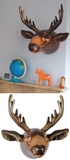 Inflatable Moose Head Wall Art Novelty