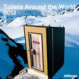 Toilets Around the World - 2014 Calendar Calendars