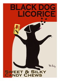 Black Dog Licorice Poster by Ken Bailey
