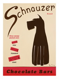 Schnauzer Bars Giclee Print by Ken Bailey