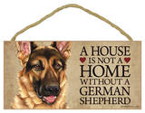 House Not A Home Without A German Shepherd Wood Sign Wood Sign