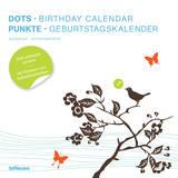 Dots Square Birthday - Perpetual Calendar (undated) Calendars