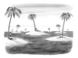 Many desert islands. - New Yorker Cartoon Premium Giclee Print by Harry Bliss