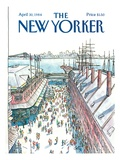 The New Yorker Cover - April 30, 1984 Regular Giclee Print by Arthur Getz