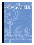 The New Yorker Cover - May 20, 2013 Regular Giclee Print by Christoph Niemann