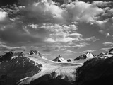 Worthington Glacier and Chugach Mountains, Thompson Pass Near Valdez, Alaska, USA Photographic Print by Adam Jones