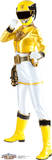 Yellow - Power Rangers Megaforce Lifesize Standup Cardboard Cutouts