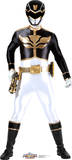 Black - Power Rangers Megaforce Lifesize Standup Cardboard Cutouts