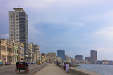 Malecon Street Along the Waterfront, Havana, UNESCO World Heritage Site, Cuba Photographic Print by Keren Su