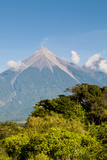 Fuego Volcano Outside Antigua, Guatemala Photographic Print by Michael DeFreitas