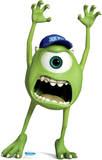 Mike Wazowski - Disney Pixar Monsters University Lifesize Standup Stand Up