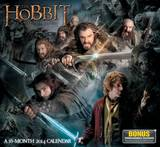 The Hobbit: An Unexpected Journey - 2014 Calendar Kalendáře
