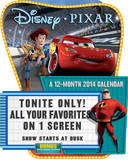 Pixar Favorites - 2014 Die Cut Calendar Calendars