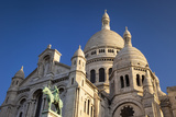 Church, Basilique Du Sacre Coeur, Montmartre, Paris, France Photographic Print by Brian Jannsen