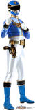 Blue - Power Rangers Megaforce Lifesize Standup Cardboard Cutouts
