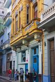 Old House in the Historic Center, Havana, UNESCO World Heritage Site, Cuba Fotografie-Druck von Keren Su