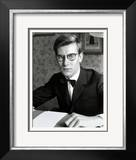 Yves Saint Laurent, July 1960 Framed Photographic Print by Luc Fournol
