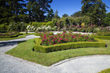 Gardens at Governor's House Victoria, British Columbia, Canada Photographic Print by Terry Eggers