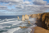 Coastline, 12 Apostles, Great Ocean Road, Port Campbell Np, Victoria, Australia Photographic Print by Martin Zwick