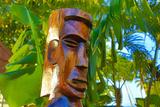 Tiki, Taveuni, Fiji Photographic Print by Douglas Peebles