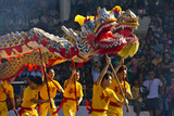 Dragon Dance Performance Celebrating Chinese New Year, City of Iloilo, Philippines Photographic Print by Keren Su