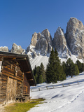 Geisler Mountains, Valley Villnoess, Dolomites, South Tyrol, Italy Photographic Print by Martin Zwick