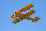 De Havilland Dh 82A Tiger Moth Biplane, Warbirds over Wanaka, Airshow, New Zealand Photographic Print by David Wall