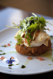 Lobster on Salmon Cake, Cuisine, Marlborough, South Island, New Zealand Photographic Print by Douglas Peebles