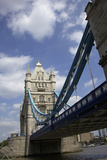 The Tower Bridge over the Thames River in London, England Photographic Print by Marilyn Parver