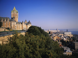 Chateau Frontenac Hotel, Quebec City, Quebec, Canada Photographic Print by Walter Bibikow