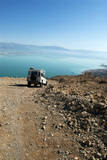 Off-Road Desert Tours of the Holy Land, Judean Desert, Dead Sea, Israel Photographic Print by David Noyes