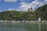 Burg Katz, Katz Castle, St Goarshausen, St Goar, Rhine River, Germany Photographic Print by Jim Engelbrecht