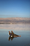 Couple in Healing Mud, Dead Sea, Israel Photographic Print by David Noyes