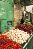 Machne Yehuda Market, Jerusalem, Israel Photographic Print by David Noyes