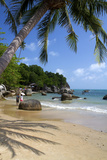 Beach, Gulf of Thailand on the Island of Ko Samui, Thailand Photographic Print by David R. Frazier
