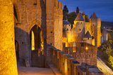 Fortification, Medieval Town of Carcassonne, Languedoc-Roussillon, France Photographic Print by Brian Jannsen